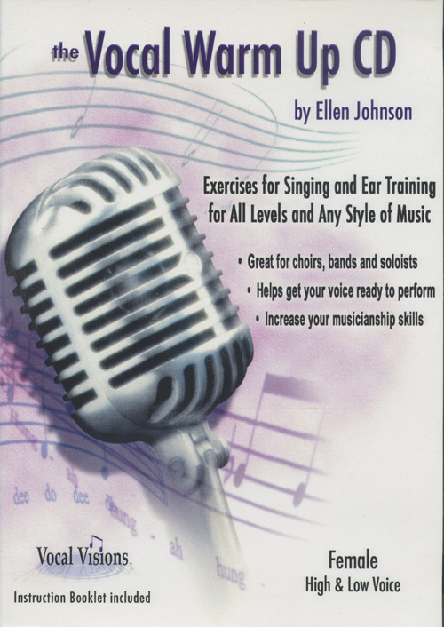 The Vocal Warm Up CD - Female High and Low Voice