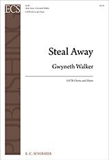 Gospel Songs: Steal Away : SATB : Gwyneth Walker : Gwyneth Walker : Sheet Music : 8228