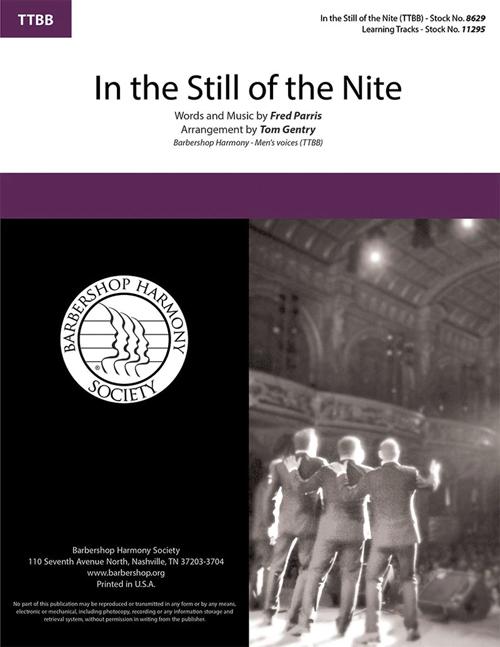 In The Still of the Night : TTBB : Tom Gentry : Sheet Music : 8629