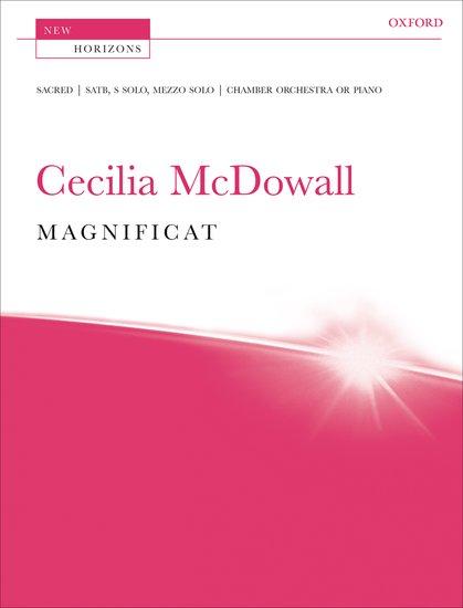 Cecilia McDowall : Magnificat : SATB : Songbook : 9780193359482 : 9780193359482