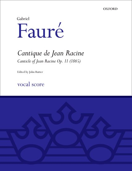 Gabriel Faure - choral composer biography sheet music and songbook
