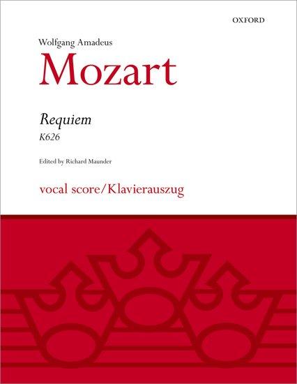 Wolfgang Amadeus Mozart : Requiem : SATB : Songbook : 9780193376175 : 9780193376175