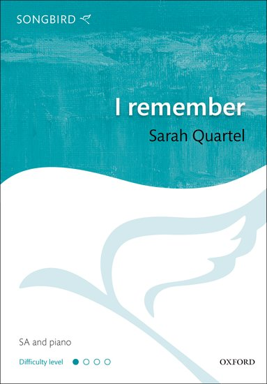 I remember : SA : Sarah Quartel : Sarah Quartel : Sheet Music : 9780193392281