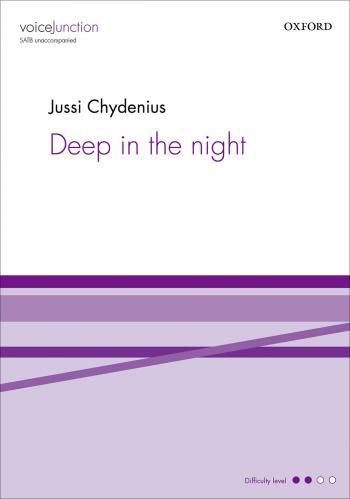 Deep in the night : SATB : Jussi Chydenius : Rajaton : DVD : 9780193397323