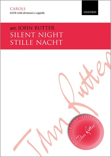 Silent Night : SATB : John Rutter : John Rutter : Sheet Music : 9780193407510
