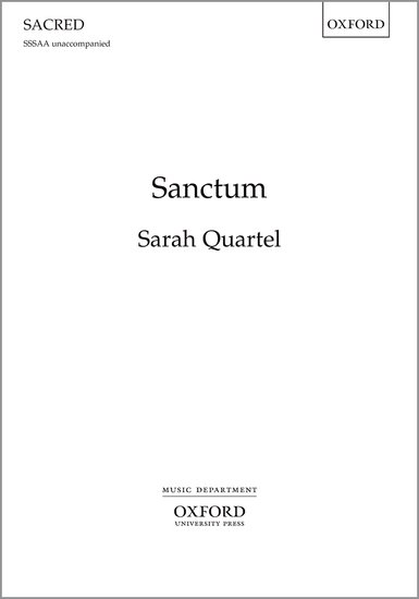 Sanctum : SSSAA : Sarah Quartel : Sarah Quartel : Sheet Music : 9780193413382