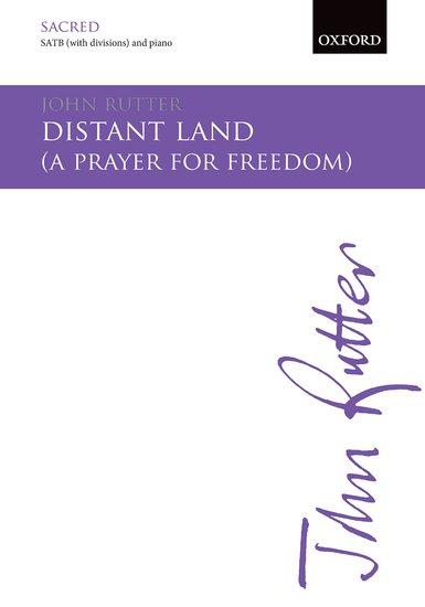 Distant Land : SATB : John Rutter : John Rutter : Sheet Music : 9780193416567