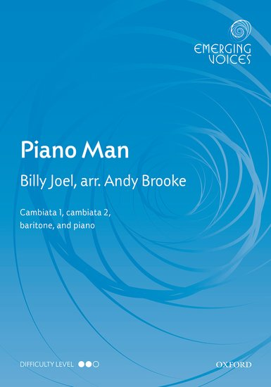 Piano Man : TTB : Andy Brooke : Billy Joel : Sheet Music : 9780193419131