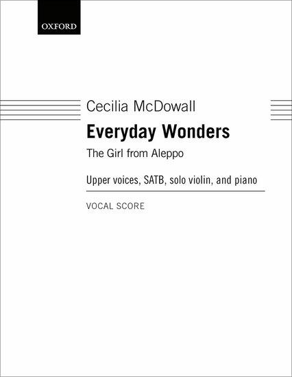 Cecilia McDowall : Everyday Wonders : Songbook : 9780193522589