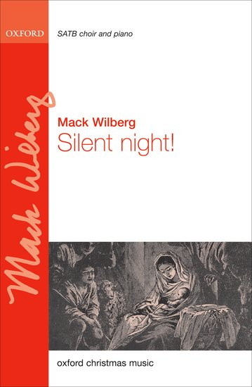 Silent Night : SATB : Mack Wilberg : Sheet Music : 9780193804807 : 9780193804807