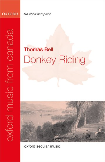 Donkey Riding : SA : Thomas Bell : Sheet Music : 9780193805248 : 9780193805248