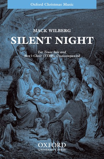 Silent night : TTBB divisi : Mack Wilberg : Miscellaneous : Sheet Music : 9780193864313 : 9780193864313