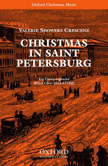 Christmas in Saint Petersburg : SSAATTBB : Valeria Crescenz : Valeria Crescenz : Sheet Music : 9780193868724 : 9780193868724
