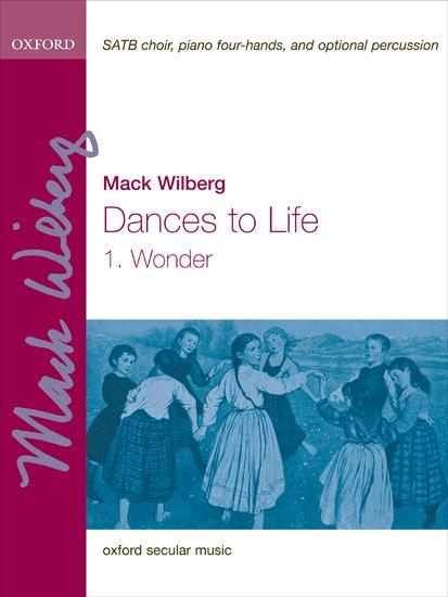 Wonder : SATB : Mack Wilberg : Mack Wilberg : Sheet Music : 9780193869394 : 9780193869394