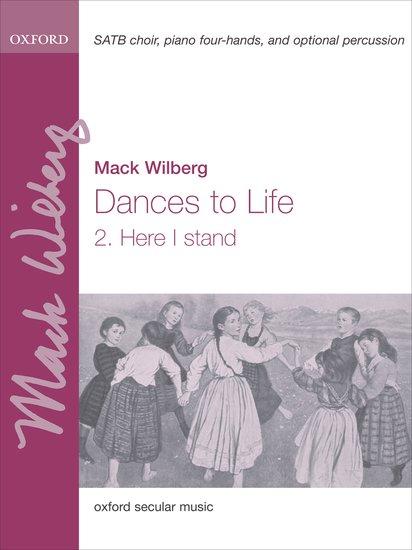 Here I stand : SATB : Mack Wilberg : Mack Wilberg : Sheet Music : 9780193869493 : 9780193869493
