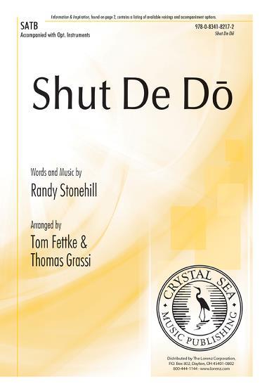 Shut De Do : SATB : Tom Fettke :  1 CD : 9780834182172 : 9780834182172