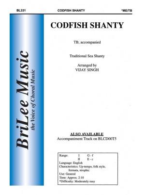 Codfish Shanty : TB : Vijay Singh : Vijay Singh : Sheet Music : BL331