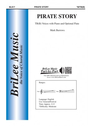 Pirate Story : TBB : Mark Burrows : Mark Burrows : Sheet Music : BL917