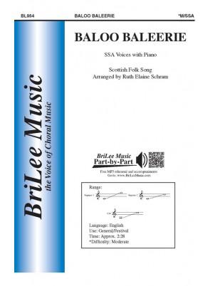 Baloo Baleerie : SSA : Ruth Elaine Schram : Sheet Music : BL954