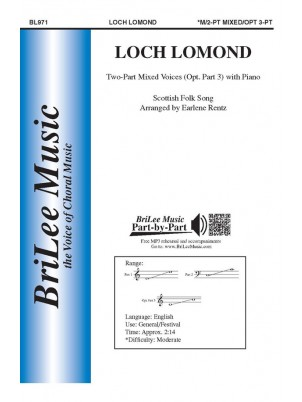 Loch Lomond : Unison and Two-part : Earlene Rentz : Sheet Music : BL971