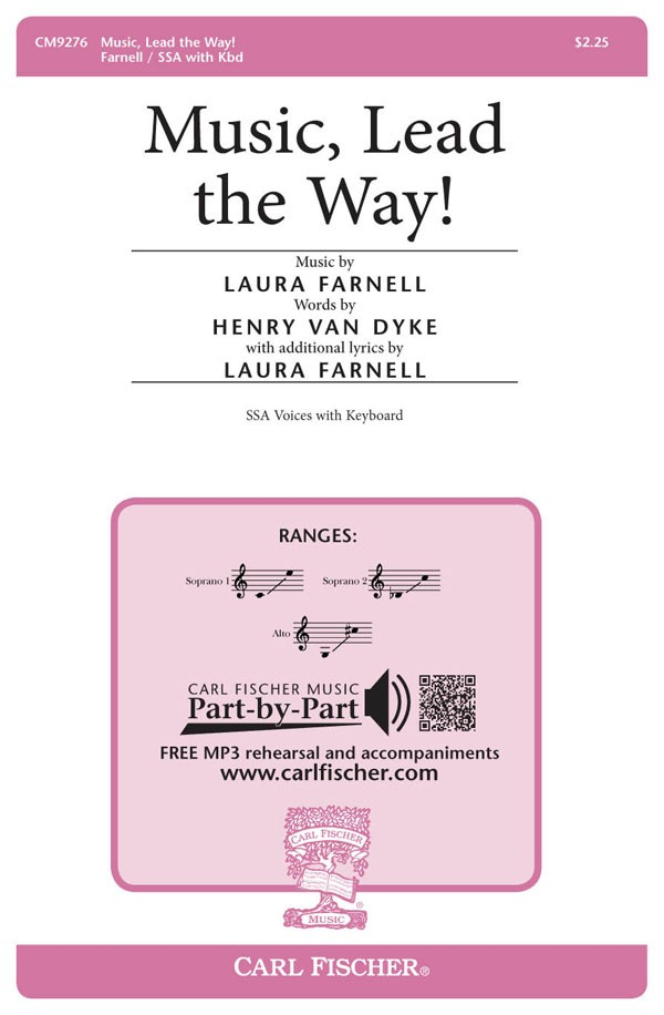 Music, Lead the Way! : SSA : Laura Farnell : Sheet Music : CM9276