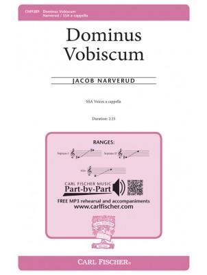 Dominus Vobiscum : SSA : Jacob Narverud : Jacob Narverud : Sheet Music : CM9389