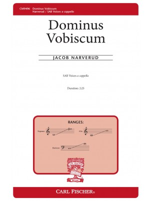 Dominus Vobiscum : SAB : Jacob Narverud : Jacob Narverud : Sheet Music : CM9496