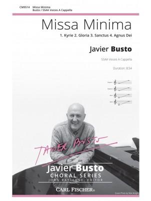 Missa Minima : SSAA : Javier Busto : Javier Busto : Sheet Music : CM9514