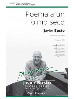 Poema a un olmo seco : SATB : Javier Busto : Javier Busto : Sheet Music : CM9517