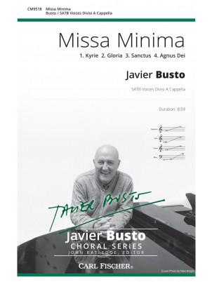 Missa Minima : SATB : Javier Busto : Javier Busto : Sheet Music : CM9518