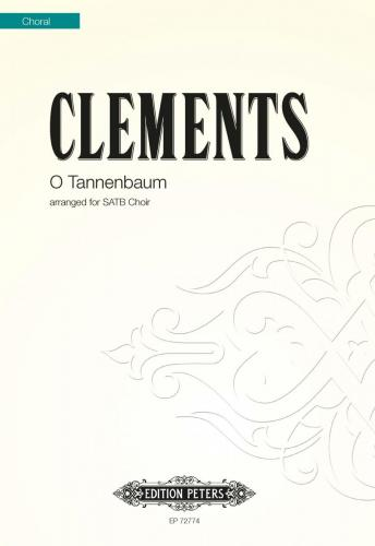 O Tannenbaum : SATB : Jim Clements : Voces8 : Sheet Music : EP72774