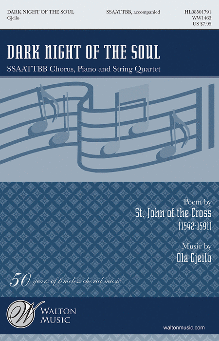 Dark Night of the Soul : SSAATTBB : Ola Cjeilo : Ola Cjeilo : Sheet Music : WW1463 : 884088580544