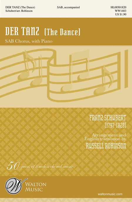 Der Tanz : SAB : Russell Robinson : Sheet Music : WW1483 : 884088647452