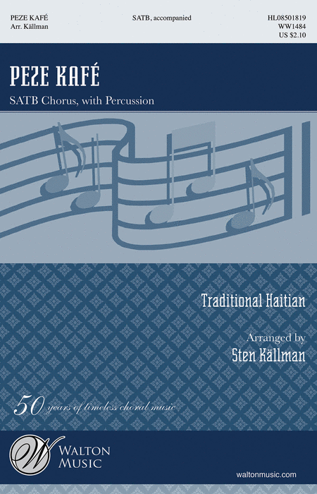 : SATB :  : Sheet Music : WW1484 : 884088646462
