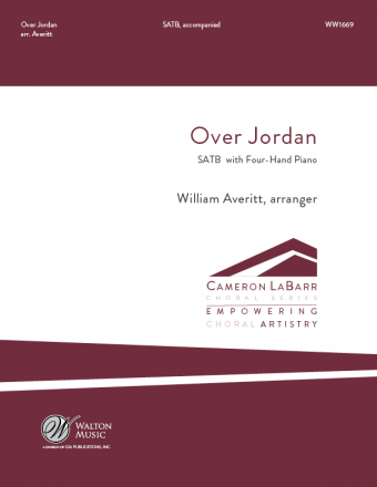 Over Jordan : SATB : William Averitt : Sheet Music : WW1669 : 78514700836