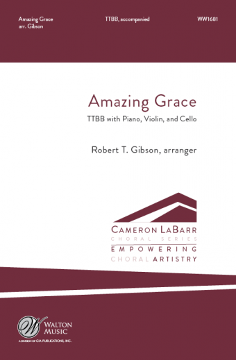 Amazing Grace : TTBB : Robert T. Gibson : Springfield Multicultural Ensemble : Songbook & CD : WW1681 : 78514700986