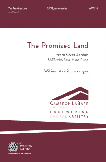 The Promised Land (from Over Jordan) : SATB : William Averitt : University of South Carolina Graduate Vocal Ensemble : Sheet Music : WW1716 : 78514701396
