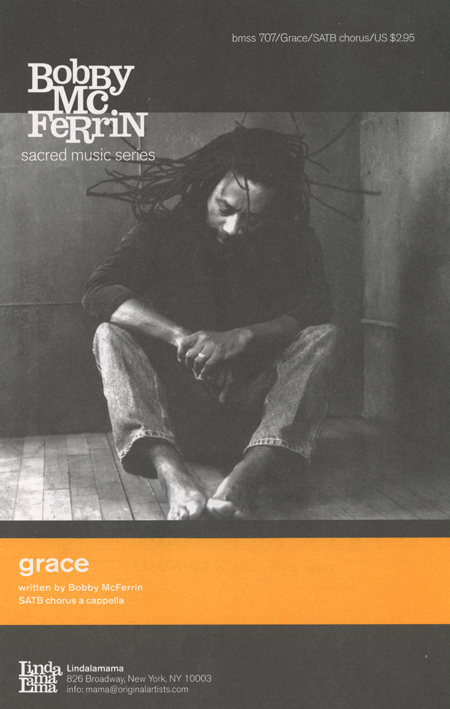 Grace : SATB : Bobby McFerrin : Bobby McFerrin : Sheet Music : grace