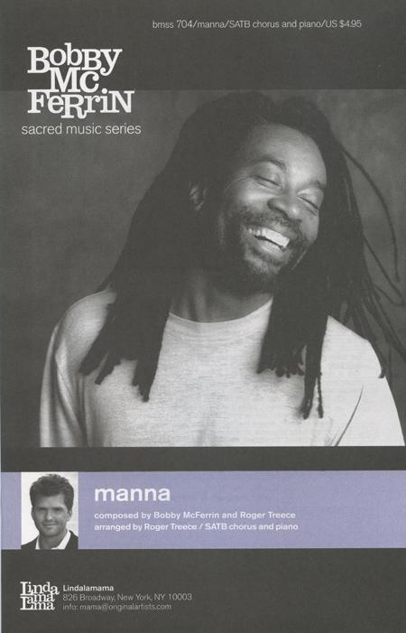 Manna : SATB : Bobby McFerrin : Bobby McFerrin : Sheet Music : manna