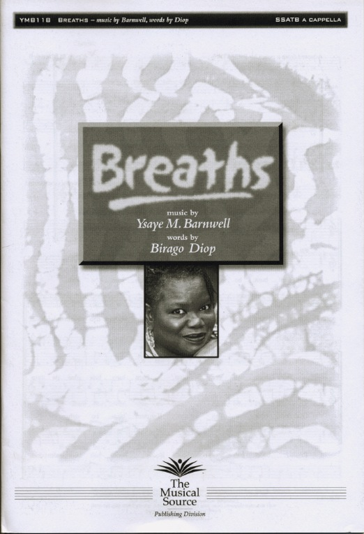 Breaths : SSATBB : Ysaye Barnwell : Ysaye Barnwell : Sweet Honey In The Rock : Sheet Music : ymb118