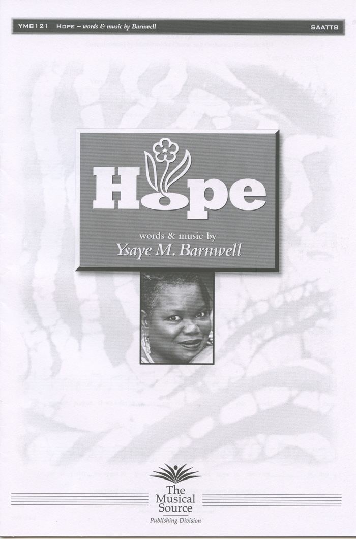 Hope : SSAATTBB : Ysaye Barnwell : Ysaye Barnwell : Sweet Honey In The Rock : Sheet Music : ymb121