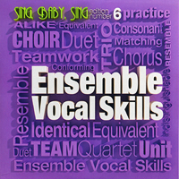 Darlene Rogers with Dale Syverson, Peggy Gram : Ensemble Vocal Skills : 00  1 CD :