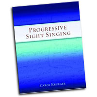 Carol Krueger : Progressive Sight Singing : 01 Book & 1 CD :  : 9780195386042 : 9780195386042