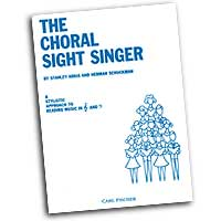 Stanley Arkis / Herman Schuckman : The Choral Sight Singer : 01 Book :  : 04855