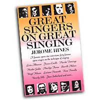 Jerome Hines : Great Singers on Great Singing : 01 Book :  : 073999479454 : 0879100257 : 00332481