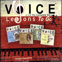 Ariella Vaccarino : Voice Lessons To Go - Complete Set : 4 CDs :  : 6 34479 80056 6