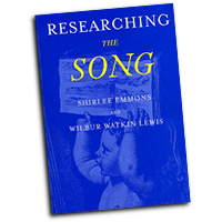 Shirlee Emmons : Researching The Song : Solo : Book :  : 9780195373103