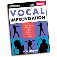 Bob Stoloff : Vocal Improvisation : 01 Songbook & 1 CD :  : 884088407339 : 0876391021 : 50449599