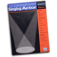 Various Arrangers : The Contemporary Singing Actor - Women's Edition Vol. 1 : Solo : Songbook : 073999184884 : 0634047663 : 00740192