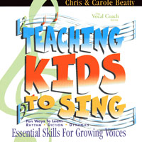 Chris and Carole Beatty : Teaching Kids to Sing - Essential Skills for Growing Voices (CD) : Kids : 00  1 CD :  : VOCH-CD-012